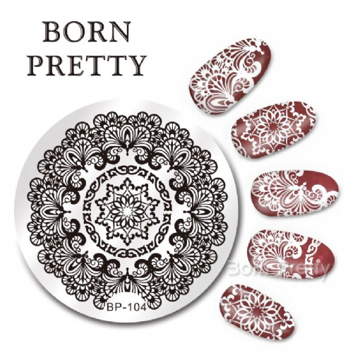 Born Pretty Plate # BP-104